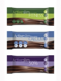 Barras de chocolate Active Slim